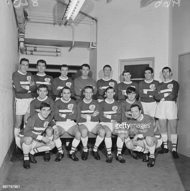 The Peterborough United FC football team UK 15th February 1966