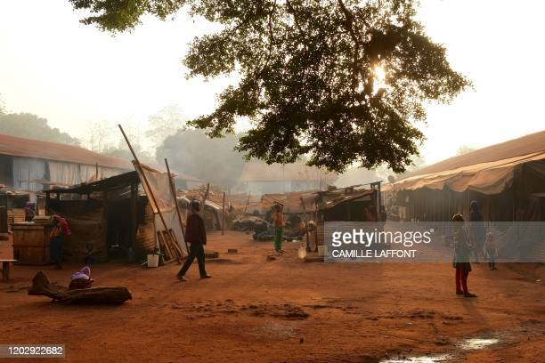 """The """"petit seminaire"""" Internally Displaced People camp in Bangassou, where 2000 muslim have been living for almost three years, on February 13th..."""