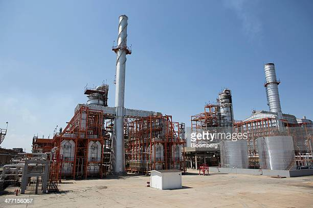 The Petroleos Mexicanos Miguel Hidalgo Refinery stands in Tula de Allende Mexico on Thursday March 6 2014 The Pemex board of directors approved a $34...