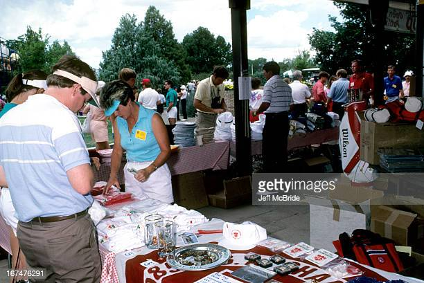 The PGA Golf Shop at the 67th PGA Championship held at Cherry Hills Country Club in Englewood Colorado August 811 1985