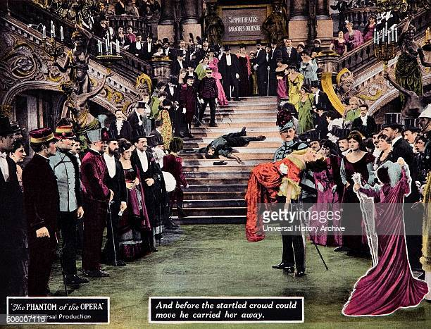 """""""The Phantom of the Opera"""" a 1925 American silent horror film adaptation of Gaston Leroux's 1910 novel of the same name. It starred Lon Chaney, Sr in..."""