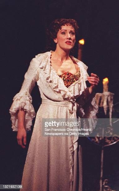 """The Phantom of the Opera"""" about to celebrates it's three year anniversary at the Curran Theater SF. The Co-star is Lisa Vroman. Chronicle Photo:..."""