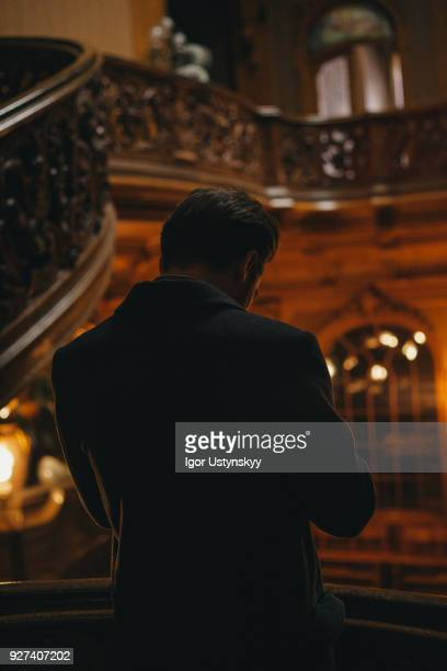 the phantom of the opera at the stage - the phantom of the opera stock pictures, royalty-free photos & images