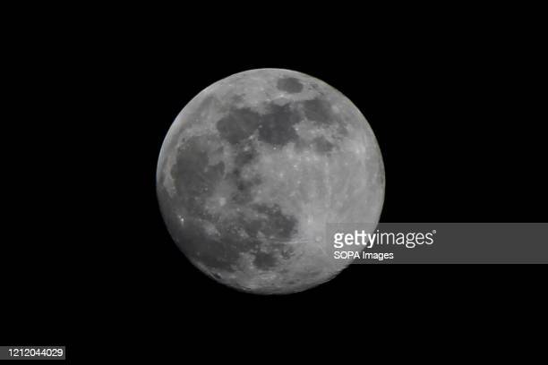 The phenomenon of the moon is seen closer to the earth it's also known as the super flower moon
