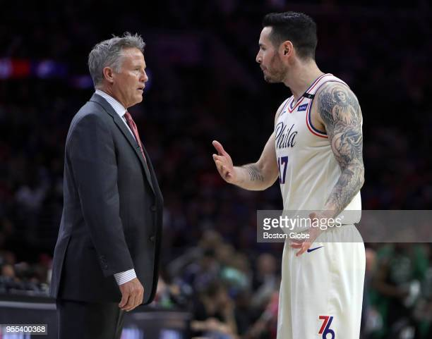 PHILADELPHIA PA MAY The Philadelphia 76ers host the Boston Celtics in Game Three of the Eastern Conference semifinals at the Wells Fargo Center in...