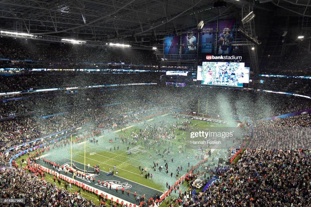 Super Bowl LII - Philadelphia Eagles v New England Patriots : Foto jornalística