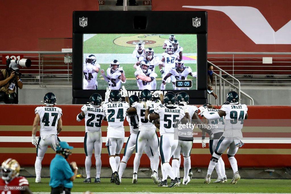 Philadelphia Eagles v San Francisco 49ers : ニュース写真