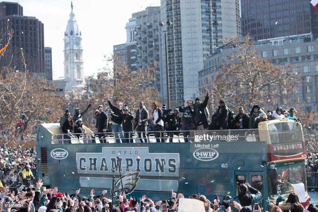 Super Bowl LII - Philadelphia Eagles Victory Parade : ニュース写真