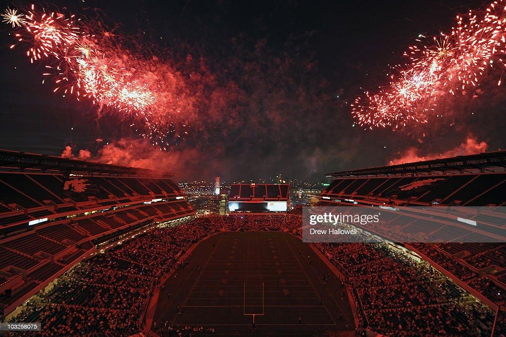 Philadelphia Eagles Training Camp : News Photo