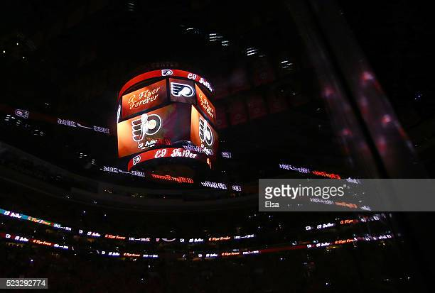 The Philadelphia Flyers honor the passing of team owner Ed Snider in a pregame ceremony before Game Three of the Eastern Conference First Round...