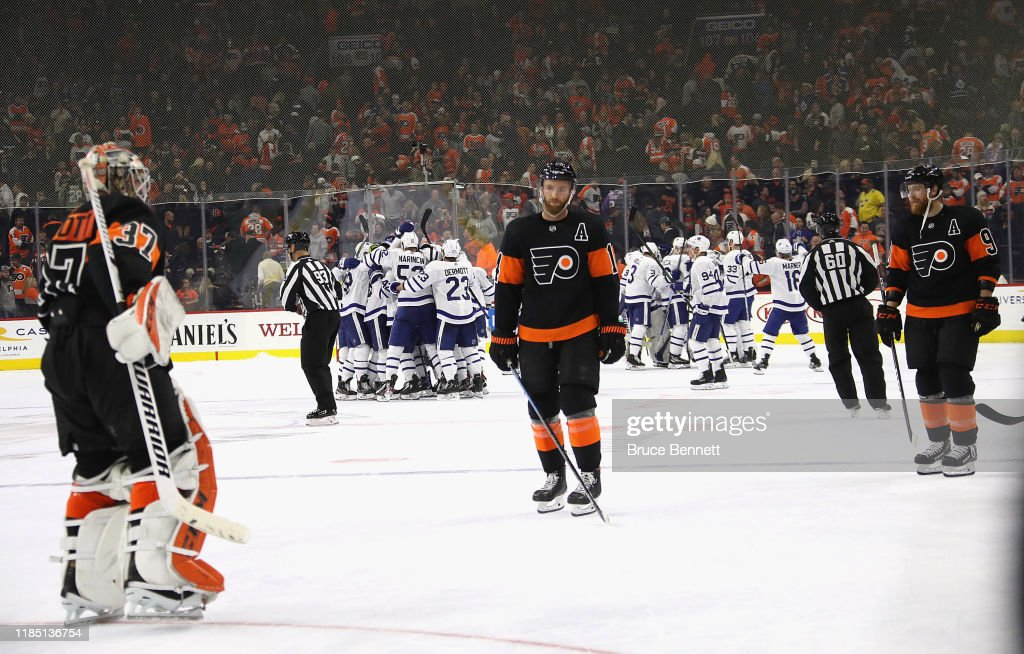Toronto Maple Leafs v Philadelphia Flyers : News Photo