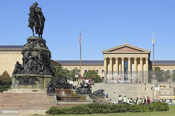 The Philadelphia Museum of Art + Washington Monument Fountain