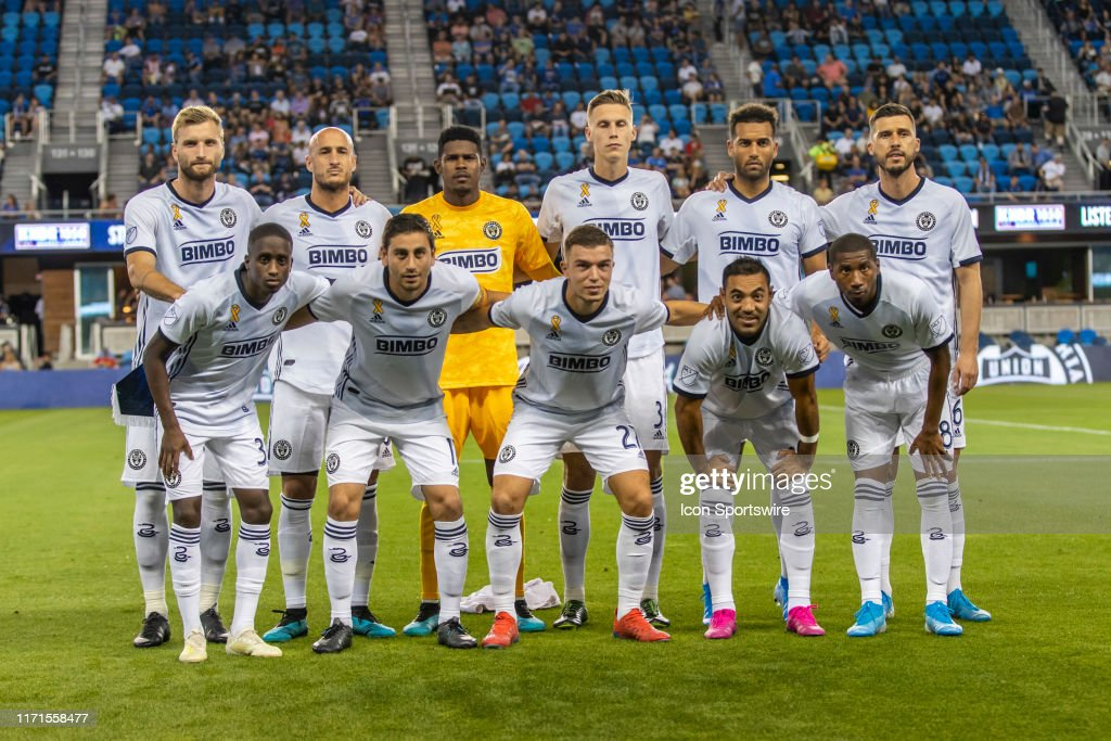 SOCCER: SEP 25 MLS - Philadelphia Union at San Jose Earthquakes : Photo d'actualité