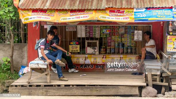 the philippines, local shop - davao city fotografías e imágenes de stock