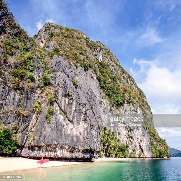 the philippines, morning in palawan - palawan stock pictures, royalty-free photos & images