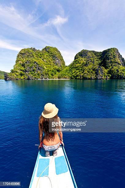 The Philippines, Palawan Province, El Nido, tropical island.
