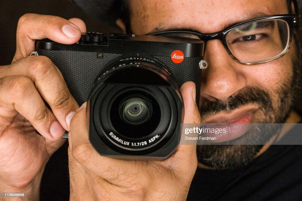Hiram Garcia Hosts Worldwide Launch Of New Leica Camera Product : ニュース写真