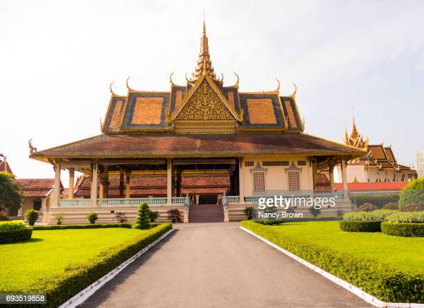 The Phochani Pavillion in The Royal Palace in Phnom Penh in Cambodia.