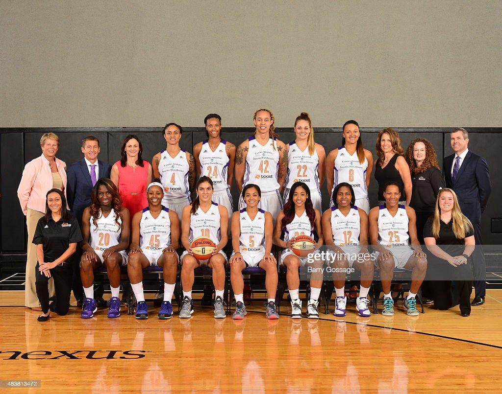 2015 WNBA Team Photos