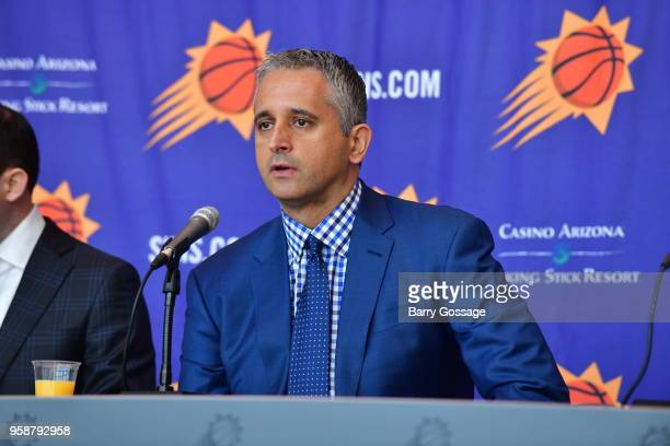 The Phoenix Suns announce Igor Kokoskov as the new head coach at a press conference on May 14 at Talking Stick Resort Arena in Phoenix Arizona NOTE...