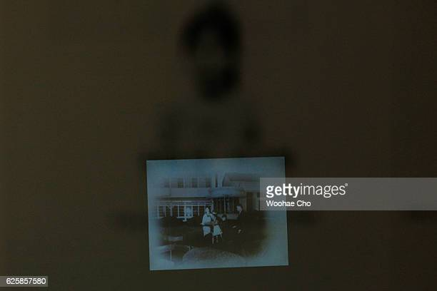 The photos of Park Geunhye's childhood are exhibited in the house where Park's family lived from May 1958 when his father former president Park...