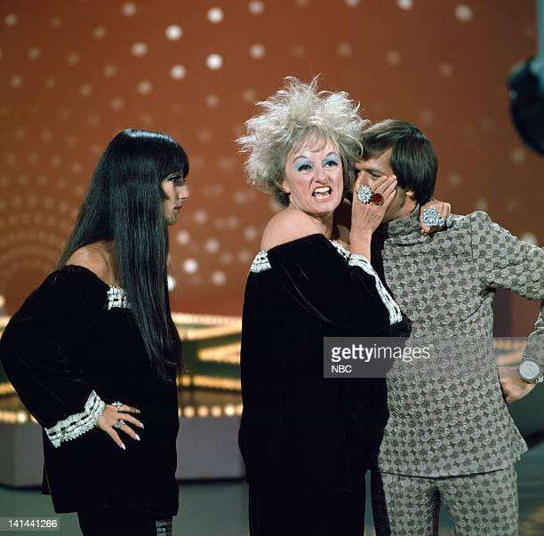 HALL 'The Phyllis Diller Happening' Episode 1006 Pictured Cher Phyllis Diller Sonny Bono