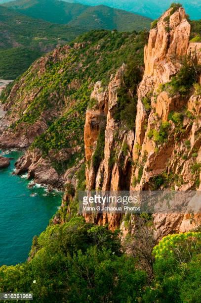 The Piana's calanques, Corsica, France