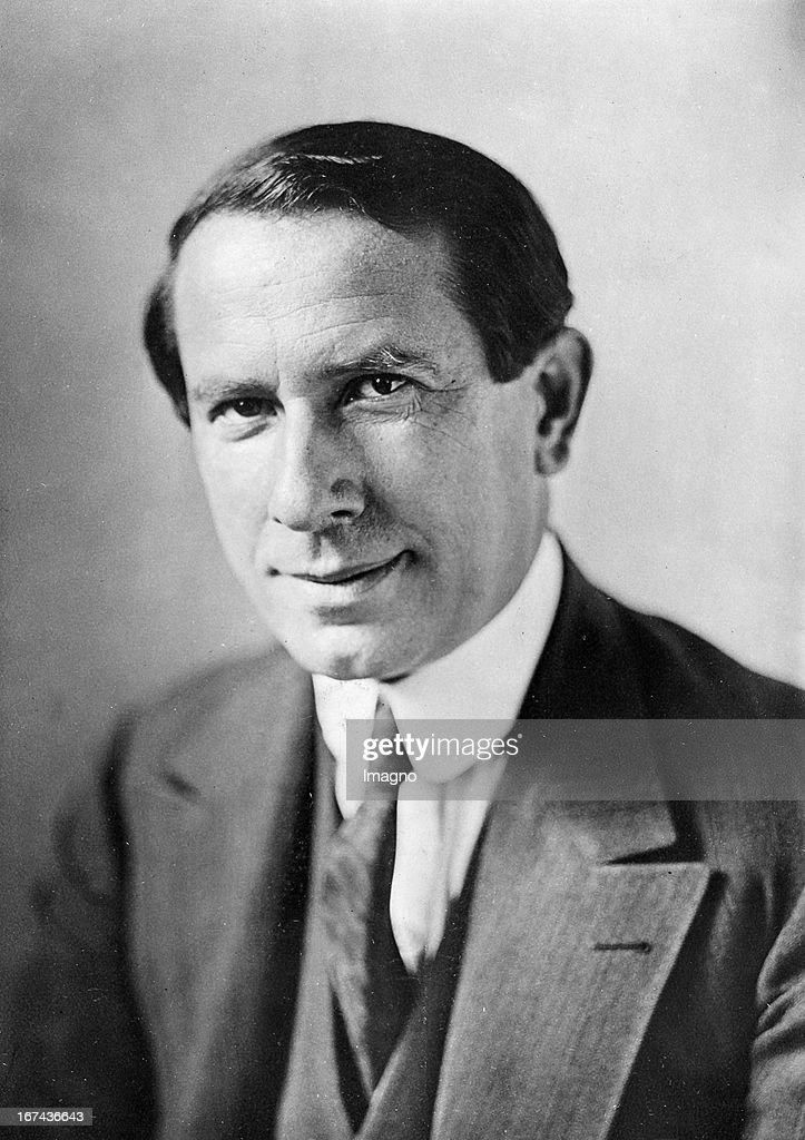 The pianist Leo Sirota (1885-1965). About 1925. Photograph. (Photo by Imagno/Getty Images) Der Pianist Leo Sirota (18851965). Um 1925. Photographie.
