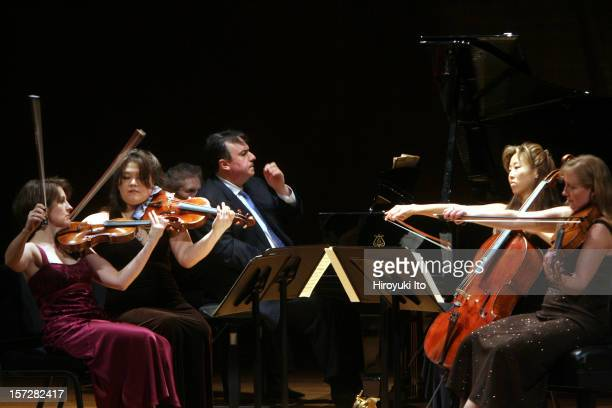 The pianist Yefim Bronfman and musicians from the New York Philharmonic performing at the Metropolitan Museum of Art on Sunday night January 4...