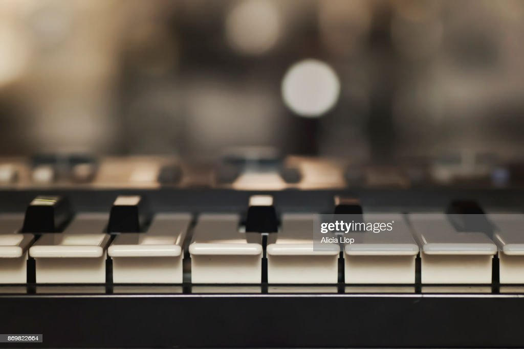 The piano : Stock Photo