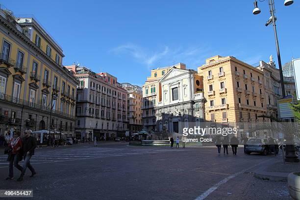 The Piazza del Plebiscito and the Chiesa di San Ferdinando are in the heart of historical Naples or Napoli, is the capital of the Italian region...
