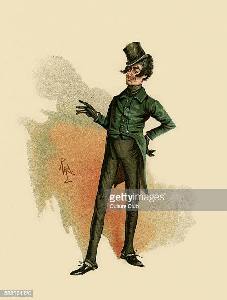 The Pickwick Papers by Charles Dickens Illustration of MrJingle Caption reads Jingle' said that versatile gentleman taking thw hint at onceJingle...