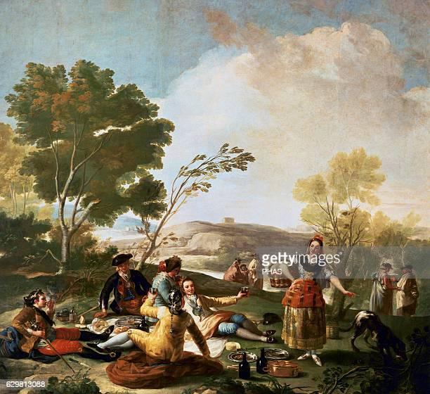 The Picnic by Francisco de Goya