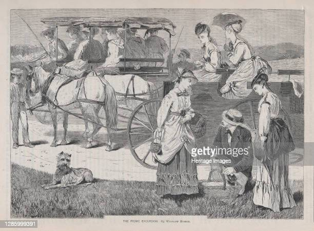 The Picnic Excursion , August 14, 1869. Artist Unknown.