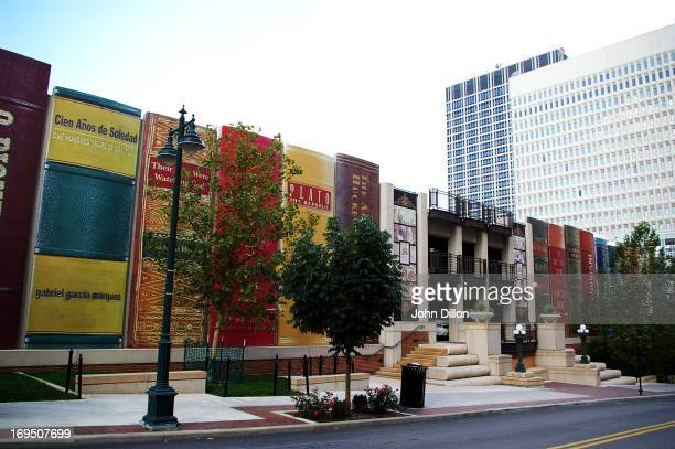 The picture was taken of the Kansas City central library parking garage in early September 2008.