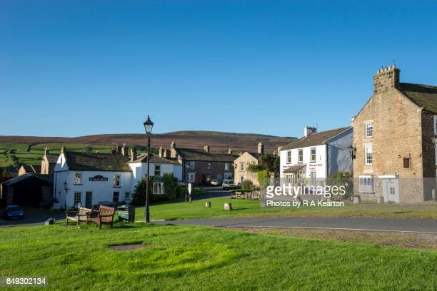 The picturesque village of Reeth in Swaledale, North Yorkshire, England