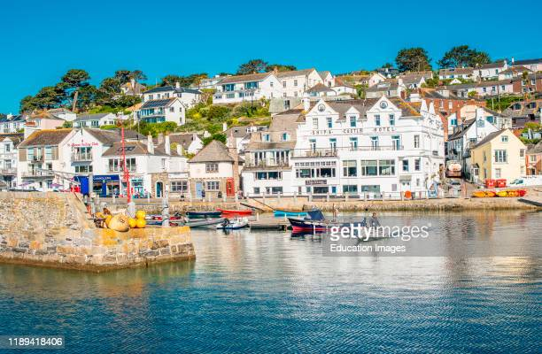 The picturesque village of St Mawes on the Roseland Peninsula near Falmouth in Cornwall, England, UK.