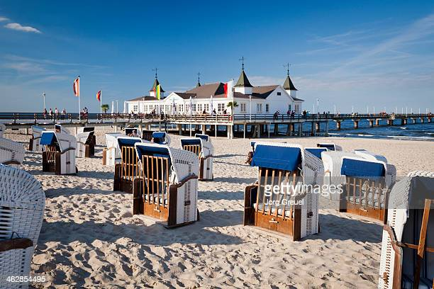 The pier of Ahlbeck, Island of Usedom