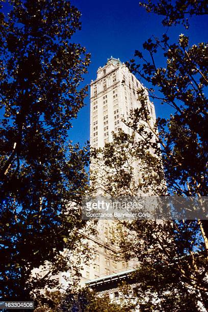The Pierre Hotel In New York City overlooking Central Park USA