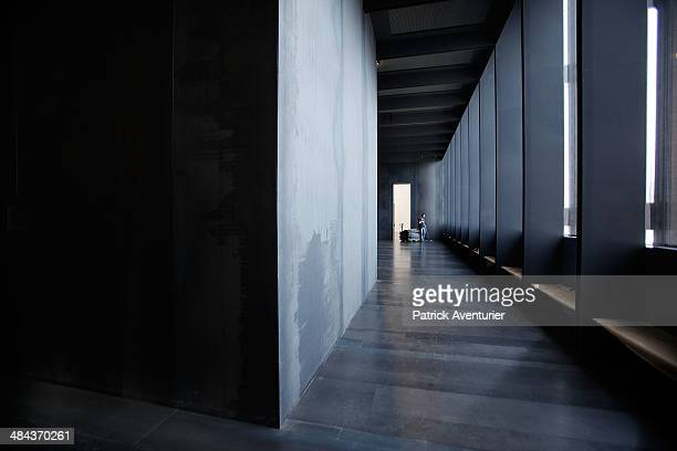 The Pierre Soulages museum on April 11 2014 in Rodez FranceThe Soulages Museum in Rodez is due to open in May 2014 The Museum is dedicated to the...