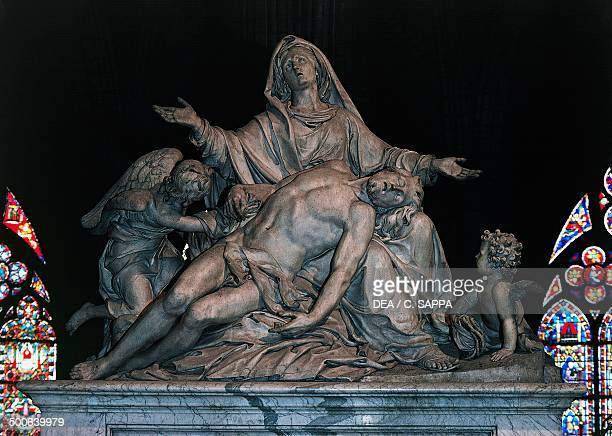 The Pieta by Nicolas Coustoues the choir of NotreDame Cathedral Paris IledeFrance France