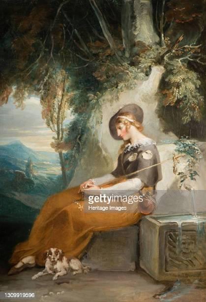 The Pilgrim, 1770-1800. Artist William Hamilton. .