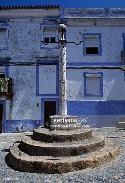 The Pillory column in Arraiolos Alentejo Portugal 16th century