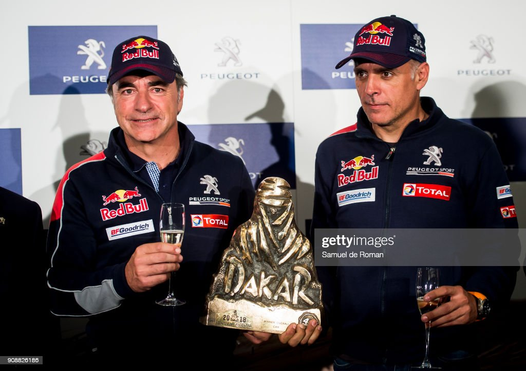 2018 Dakar Rally's Winner Carlos Sainz Press Conference