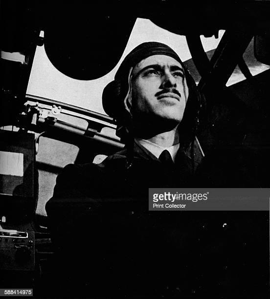 The pilot of a British Coastal Command aircraft circa 1940 From Coastal Command