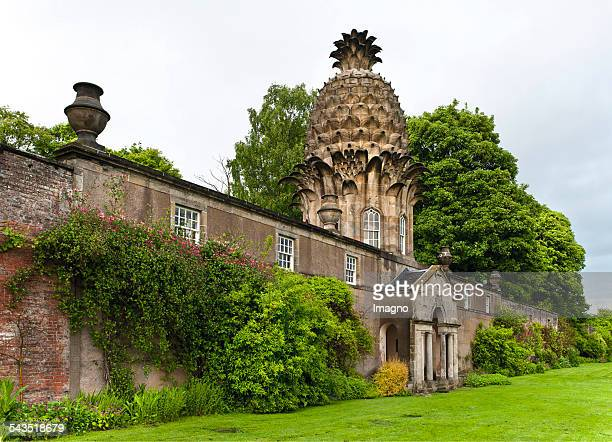 The Pinapple House in Dunmore Park Scotland About 2005