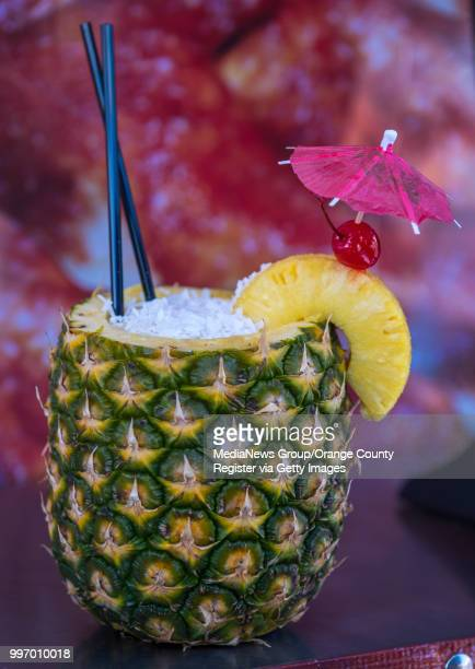 The Pineapple Bomb from DD Country Fair Cinnamon Rolls at the San Diego County Fair in Del Mar on Wednesday June 27 2018 DD Country Fair Cinnamon...