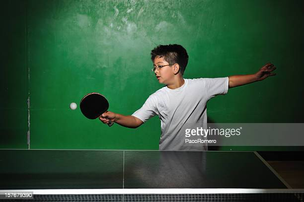 The ping pong player