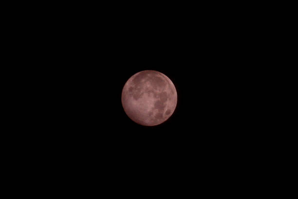 IDN: Full Moon Eclipse In Indonesia