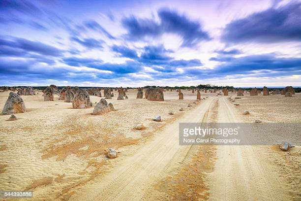 The Pinnacles Desert Western Australia in hdr